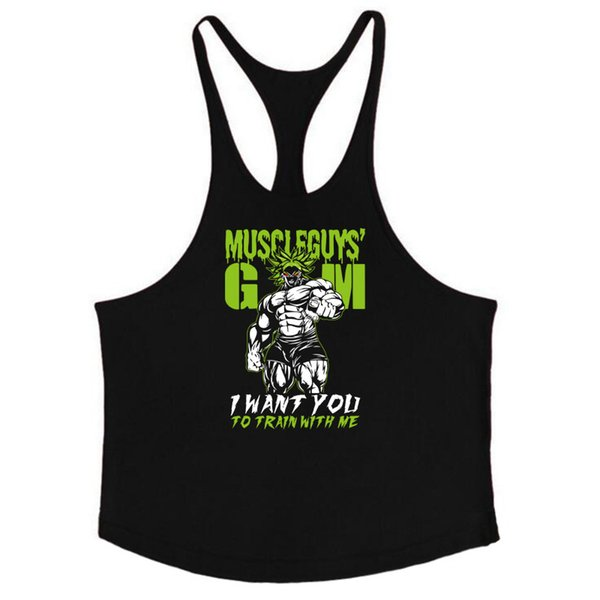 tank tops musculation vest bodybuilding clothing and fitness men shirt gyms Stringer tank top golds men undershirt