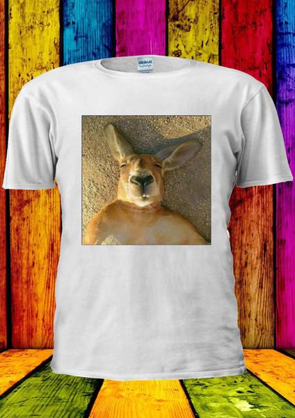 Kangaroo Wombat Sleeping Instagram T-shirt Vest Tank Top Men Women Unisex 1490 Harajuku Summer 2018 Tshirt Style Round Style tshirt