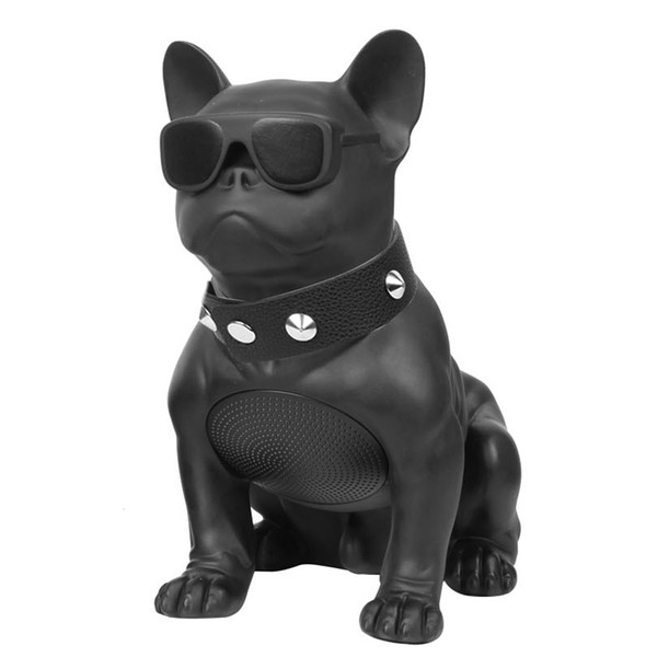2019 Bulldog Bluetooth Speaker Portable Wireless Speaker Mini Sound System  3D Stereo Music MP3 Player Surround Support TF AUX USB From Jason083,