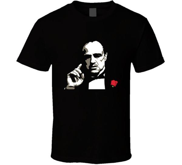 Don Coreleone Poderoso Mafia Filme 70s T-shirt Dos Homens T Presente Novo Dos EUA