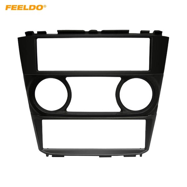 FEELDO Car 1Din Radio Fascia Frame For Nissan N16/Fb15/Sunny Ex/Sentra 1998-200 2 Stereo Frame Plate Bezel Installation Trim Kit #5031