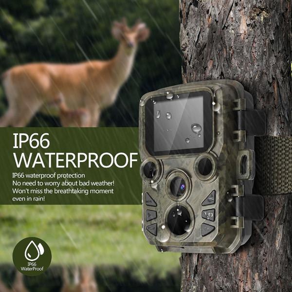 Cámara de caza MINI Chasse 12MP 1080P Cámara Full HD Wildlife Scout con visión nocturna Juego de caza Trampas fotográficas Hunter Cam
