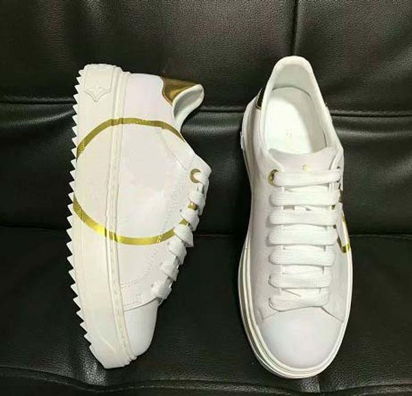 Femmes luxe espadrille Casual Mode Smart Platform Formateurs lumineux fluorescent Chaussures serpent Retour de chaussures en cuir de O27