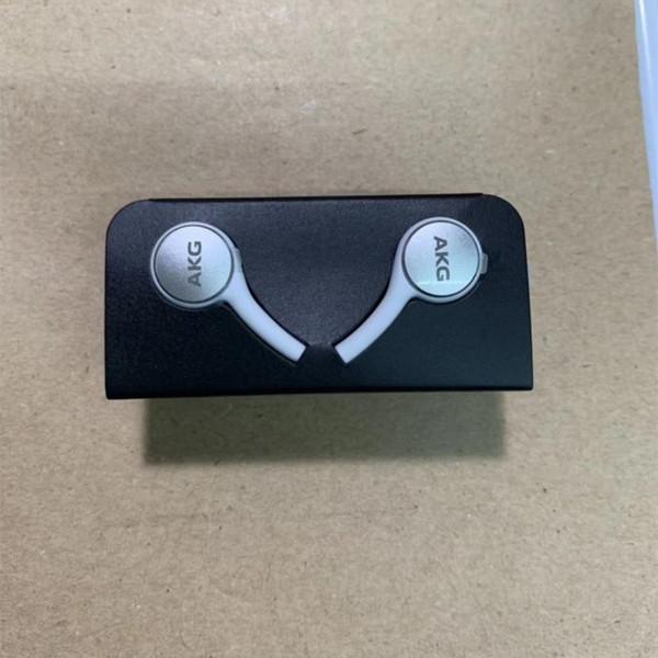100% original A + calidad Nuevo auricular para auriculares para Samsung S10 S10E Para auriculares con micrófono para auriculares en blanco y negro EO-IG955
