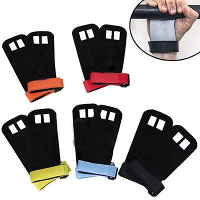 New Grips crossfit gymnastics hand grip guard palm protectors leather glove