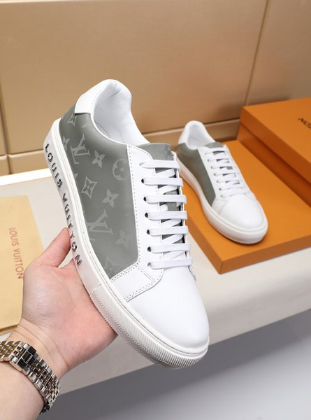New listing personality Vintage Street Mens Wild Casual Shoes, Top quality Print pattern Flat bottom Mens Casual Shoes size 38-46 0029