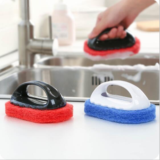 Spazzola detergente potente resistente al decontaminazione fondo duro spazzola per la pulizia spazzola da bagno per vasca da bagno