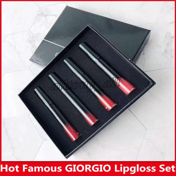 Il nuovissimo Hot Famous marca GIORGIO 4 in 1 Set da trucco, Matte Lipgloss di alta qualità