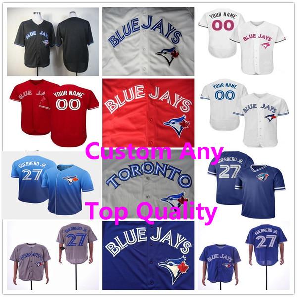 Mens Women Kid Vladimir Guerrero Jr. Blue Jays Randal Grichuk Toronto Lourdes Gurriel Jr. Justin Smoak Joe Carter Roy Halladay Youth Jerseys