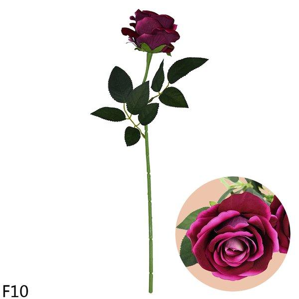 F10-rose red