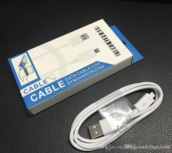 Хорошее качество OEM V8 Micro USB кабель синхронизации данных для Samsung galaxy s4 s6 s7 кабель note4 кабель с розничной упаковочной коробкой