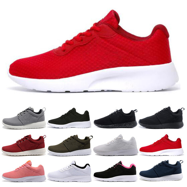 New Tanjun Run Running Shoes men women black red low Lightweight Breathable London Olympic Sports Sneakers mens trainers size 36-45