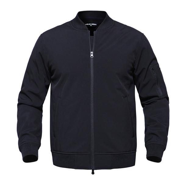 Bomber Tactical Jackets Men 2019 Softshell Camouflage Waterproof Ma-1 Army Winter Fleece Liner Jacket Outwear Coat 3xl