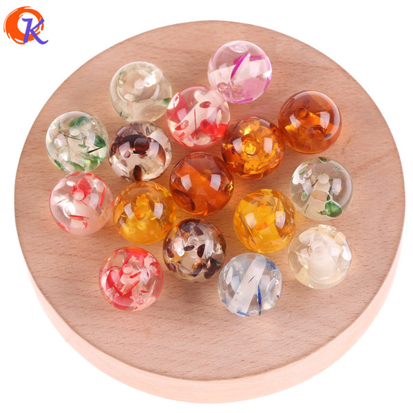wholesale 16mm 100pcs Jewelry Accessories/Resin Beads/Imitation AmberEffect/Round Beads/DIY/Hand Made/Earring Findings