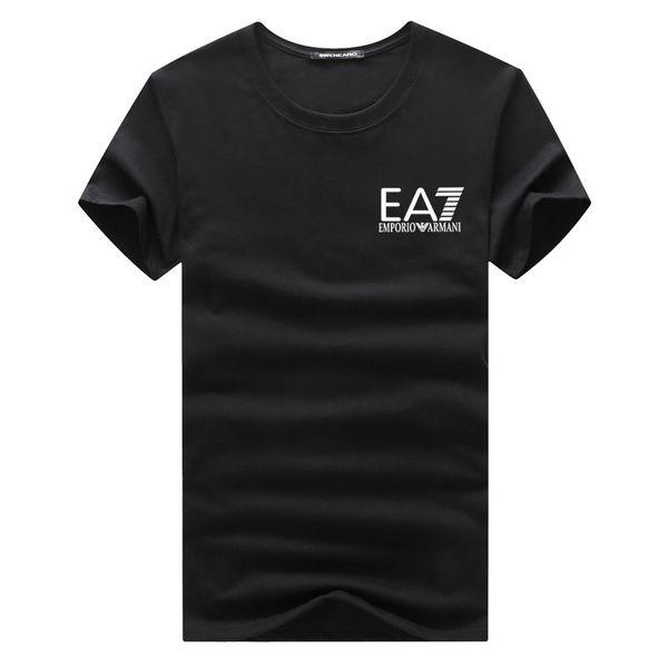 G8EA7 Лето Футболки мужские Топы Tiger Head письмо Вышивка T Рубашка мужская одежда бренда с коротким рукавом Tshirt