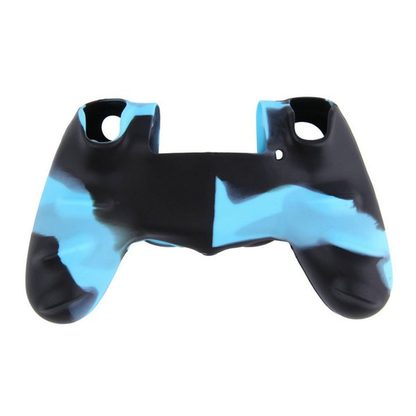 Camouflage Soft Silicone Cover Case Protection Skin for SONY playstation 4 PS4 Dualshock 4 Controller