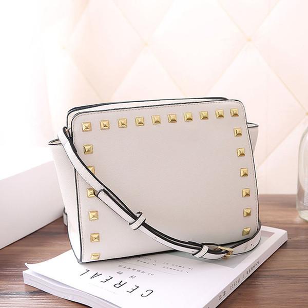 Manufacturer whole ale de igner luxury handbag pur e rivet cro pattern houlder bag pu handbag women bag