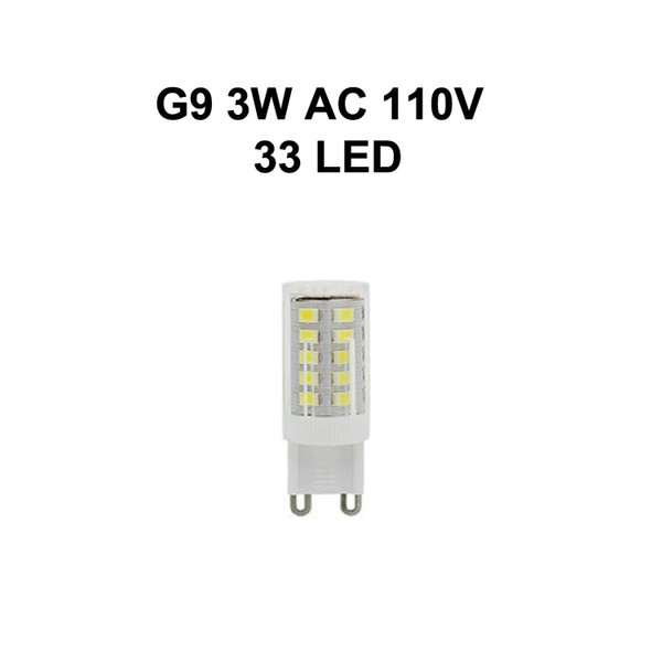 G9 3W AC110V 33LED