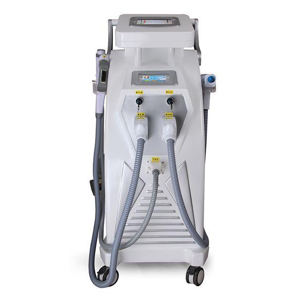 Venda quente Multifuncional IPL RF Nd Yag Laser Rejuvenescimento Da Pele Elight Depilação OPT SHR IPL Beleza Máquina com CE