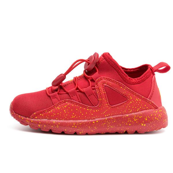 İlkbahar / Sonbahar Çocuk Ayakkabıları Erkek Spor Ayakkabı hafif Rahat Nefes Açık Çocuklar Sneakers Erkek kız Koşu Ayakkabıları