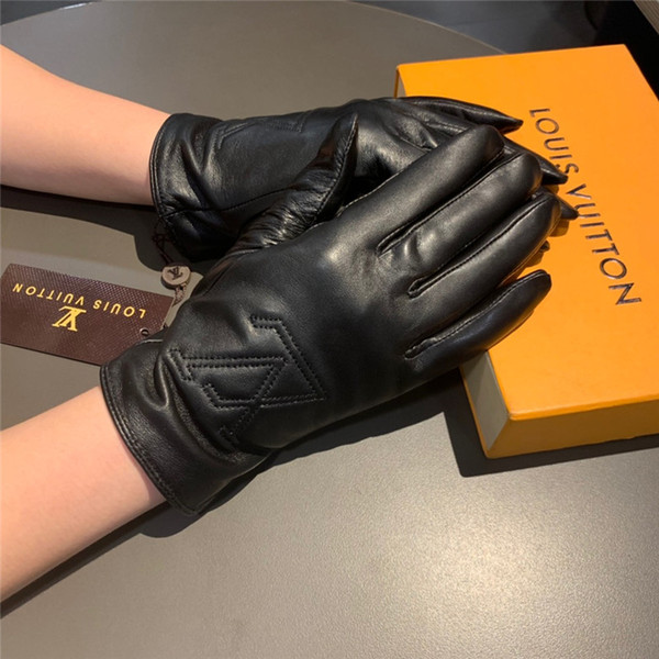 Elegant Goddess Gloves High-grade Leather Women Gloves Outdoor Driving Riding Warm Gloves With Packaging Free Shipping
