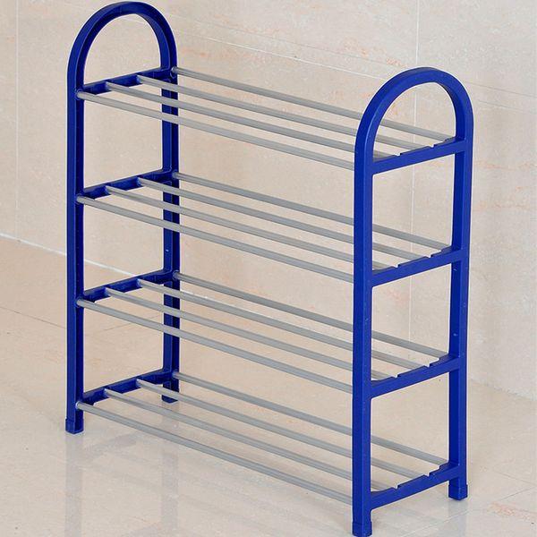 4 Tier Shoes Rack Shoe Cabinets Stand Shelf Shoes Organizer Living Room Bedroom Storage Furniture