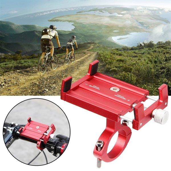 Fahrrad Handyhalter Universal Mobile Handyhalter Fahrrad Lenker Clip Ständer GPS Navigation Feste Halterung # 233394