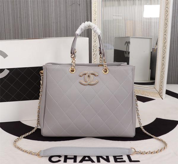 2019 sıcak satış kadın çanta messenger omuz çantaları zincir çanta kaliteli deri cüzdan bayan çanta adam çanta 68998 27-23-11cm