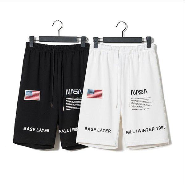 Yeni Varış En Kaliteli Tasarımcı Giyim erkek Şort erkek Plaj Şort Moda Tasarımcısı Pantolon Mektuplar Diz Boyu Gevşek Pant
