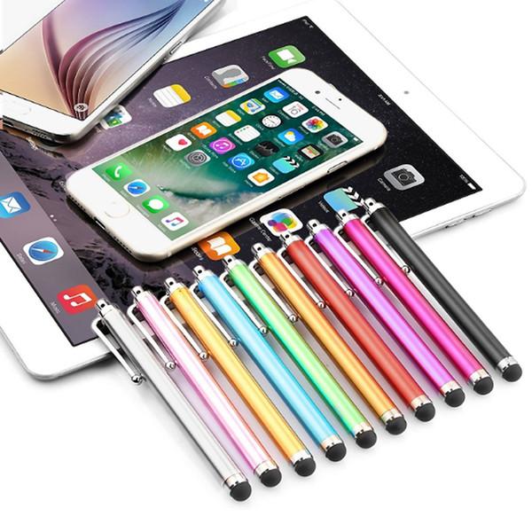 Touch screen capacitivo penna stilo per iPhone XR XS MAX 8 7 S10 PLUS telefono universale Samsung Tablet iPad Ipod Apple prezzo economico 100pcs / lotto