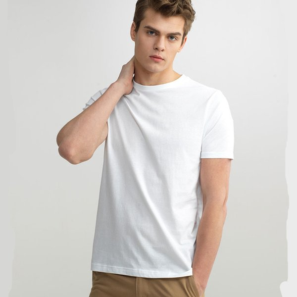 Men T Shirt Short Sleeves 3-Pack Undershirt Male Solid Cotton Mens Tee Summer Jersey Brand Clothing Sous Vetement Homme