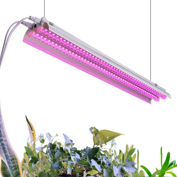 Nuovo arrivo 4ft 64W Pianta coltiva la luce - Lampada a LED integrata Plug and Play - Spettro completo per piante da interno Coltivazione di fiori