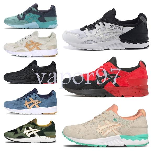 Top 2019 Designer fashion shoes men gel lyte women Wave Runner running mens Trainers luxury chaussures Sneakers