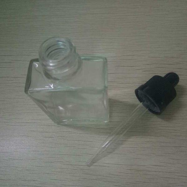 30ml sqaure cam şişeler