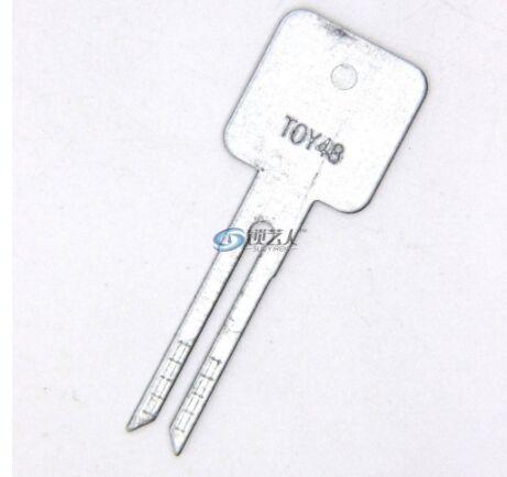 20 шт. оригинальный гравированный линейный ключ для 2 в 1 лиши TOY48 Toyota / Lexus масштаб режущие зубы пустой ключ автомобиля слесарь инструменты поставки
