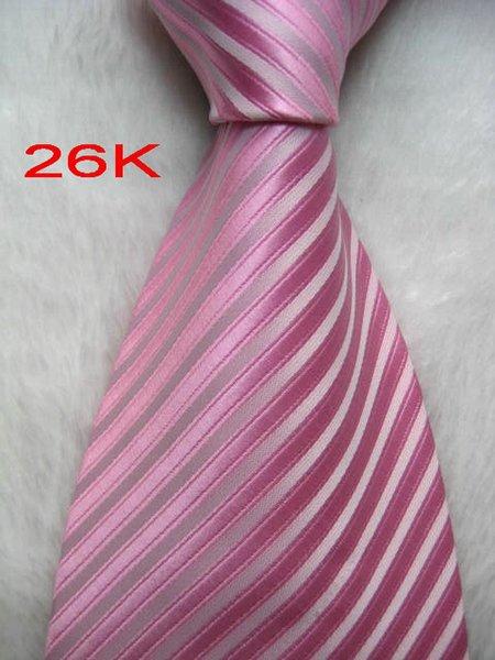 02KK # 100%Шелковый жаккардовый тканый галстук ручной работы мужской галстук
