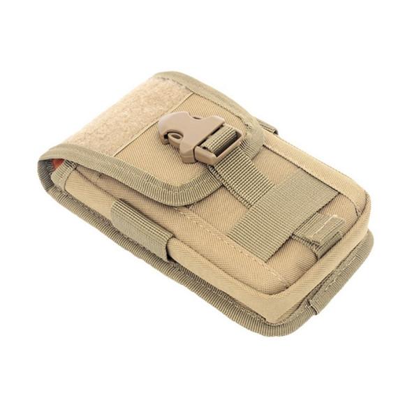 Outdoor new Tactical Molle Belt Multi-function Mini Waist Bag Phone Holster Card Carrier Bag Hook Loop Travel Pack #266231