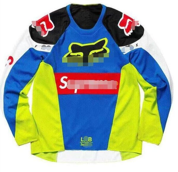 FOX Best selling speed drop suit racing suit motocross T-shirt quick-drying breathable wicking shirt