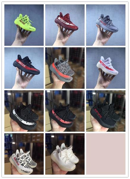 Zapatillas para niños de alta calidad 2019 Zapatillas para correr para niños pequeños Zapatillas de correr Kanye West350 Zapatillas para niños Zapatillas Beluga para niños.