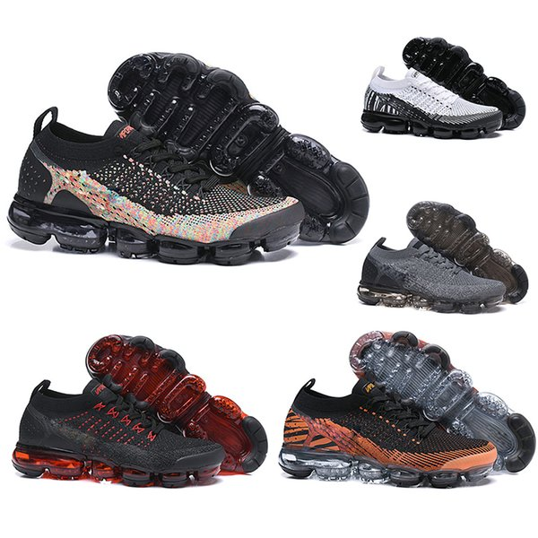 top popular Hot 2.0 Rainbow WMNS with box luxury designer shoes Athletic women Sneakers Running Shoes for Mens trainers Walking Casual shoes size 36-45 2019