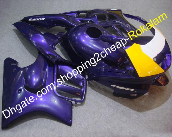 Motorrad ABS Körperteile für Honda CBR600 F3 1997 1998 CBR 600 CBRF 97 98 Lila Gelb Motorrad Verkleidung Set (Spritzguss)
