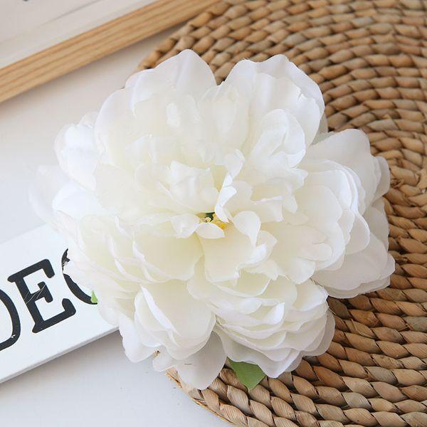 Tête de fleur de pivoine 15cm