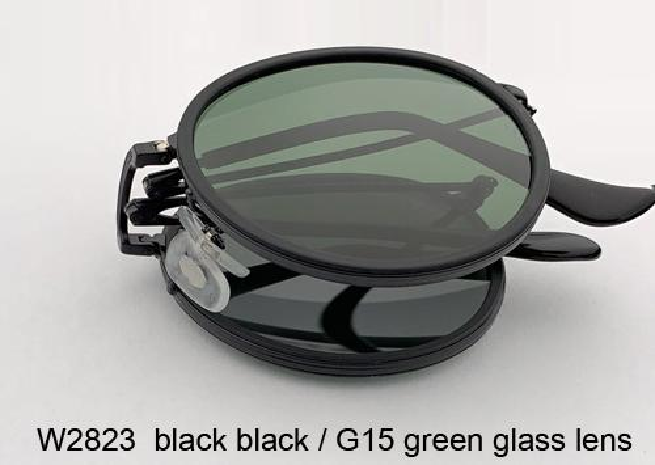 W2823 أسود أسود / عدسة G15