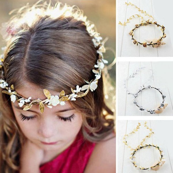 Flower crown Female Hair accessory Festival Head Wreath Garland Crown Flower Headpiece Photography props For Adults and Children