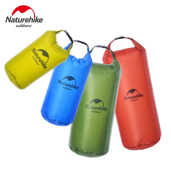 Naturehike 40D Silicon Ultralight Waterproof Swimming Bag Drifting Beach Bag Mobile Phone Handbag 5L 10L 20L 30L Travel Dry #226085