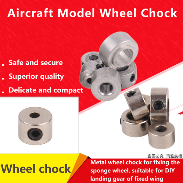 2.1 3.1 4.1 5.1 6.1 mm Fix Wing Airplane Helicopter Model Parts Landing Wheel Chocks Rod Axle Stopper