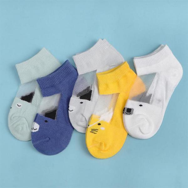 5 Pairs Newborn Baby Socks Weiche und warme Kindersocken Anti Slip Winter Socken für Jungen und Mädchen