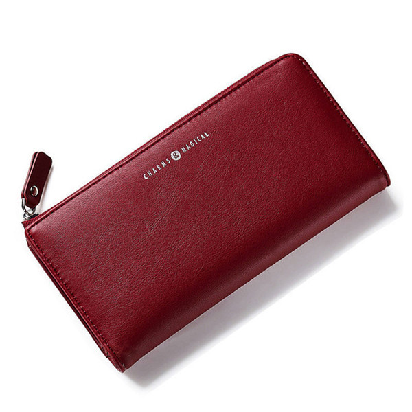 good quality Women Wallets Long Purse Korean Style Female Hasp & Zipper Coin Purses Large Capacity Lady Card Holder Clutch Purse Bags