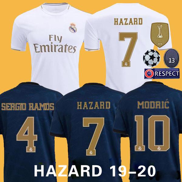 pullover da calcio real Madrid 2019 PERICOLO JOVIC MILITAO camiseta de fútbol 2019 2020 VINICIUS ASENSIO da calcio uomo camisa kids camisa de futebol