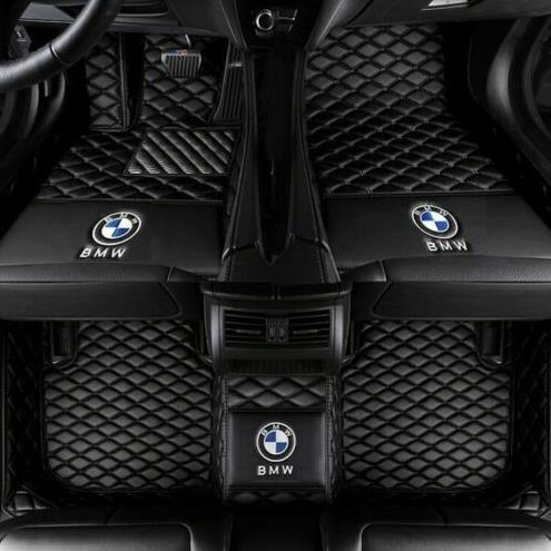 top popular For Fit BMW 5 Series F10 E60 2008-2018 Waterproof Non-slip Carpets floor matNon-slip Carpets floor mat 2019